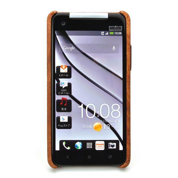 for HTC J butterfly HTL21木製ケースカバー (LIFE/ライフ/職人手作り/バタフライ/専用)
