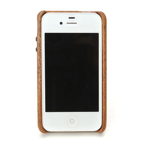 for iPhone4G/4S 3G style 木製ケースカバー (LIFE/ライフ/職人手作り/アイフォン/アイフォーン/専用)