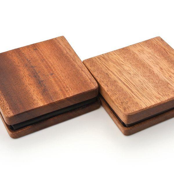 for coin case01 木と革のコインケース (LIFE/ライフ/職人手作り/財布/小銭入れ)