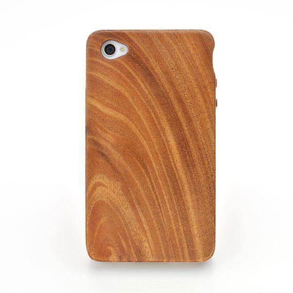 for iPhone4G/4S木製ケース (LIFE/ライフ/職人手作り/アイフォン/アイフォーン/専用)