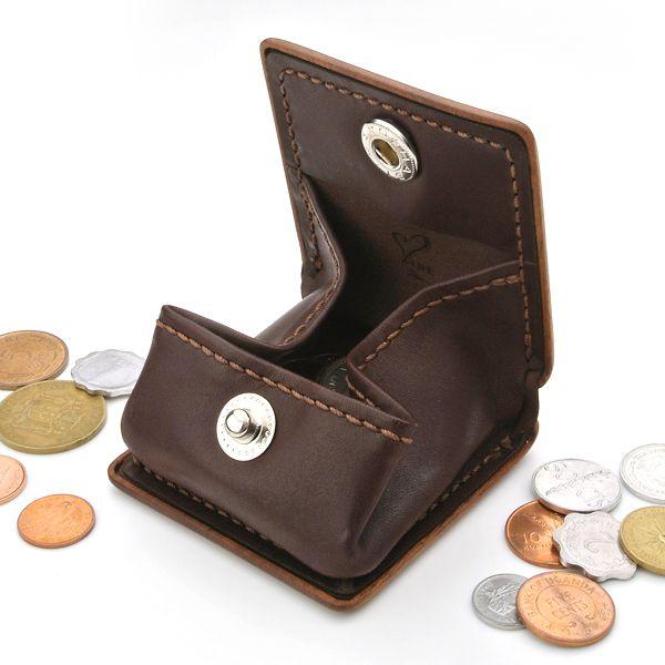 for coin case B 木と革のコインケース (LIFE/ライフ/職人手作り/小銭入れ/財布)