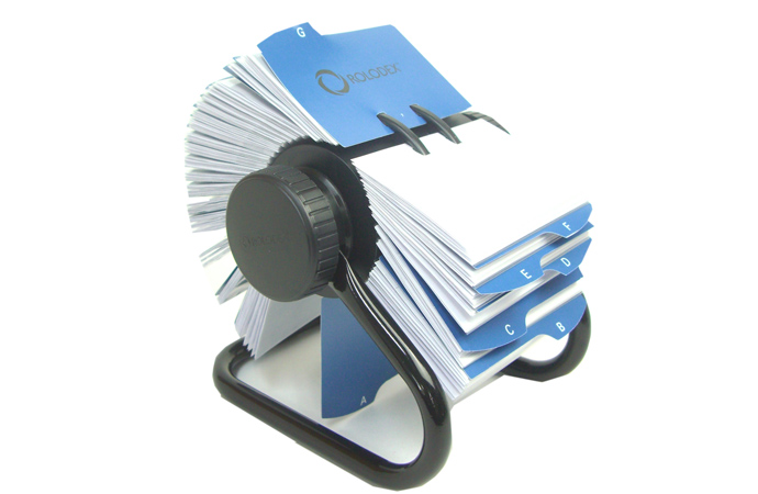 Nagasawa Stationery Center Rolodex Rolodex Rotating Card Organized