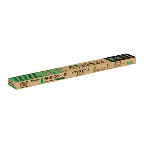東芝ライテック Hfメロウライン 32W 昼白色 10本 FHF32EX-N-H10P (1箱(10本入))