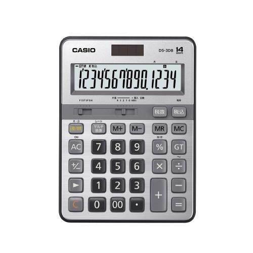 カシオ計算機 本格実務電卓 DS-3DB DS-3DB (1個)