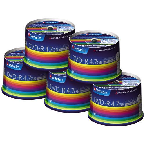 三菱ケミカルメディア データ用DVD-R4.7GB1-16倍速 50枚×5(スピンドルケース)IJP対応 DHR47JP50V3C DHR47JP50V3C (1箱(50枚入×5)), 手作りSHOP ばすぷすん工房:fc3e8670 --- jpworks.be