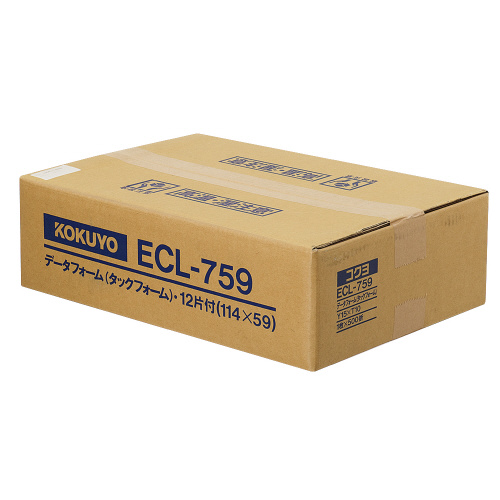 コクヨ 連続伝票用紙<タックフォーム> 500枚 Y15XT10 12片 ECL-759 (1箱(500枚))