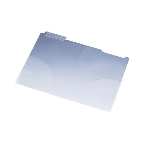 リヒトラブ カルテフォルダー A4 ダブルポケット 200枚入 HK7712ミ (1パック(200枚入))