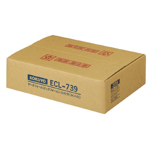 コクヨ 連続伝票用紙(タックフォーム) 24片/枚 500枚入 ECL-739 (1箱(500枚入))