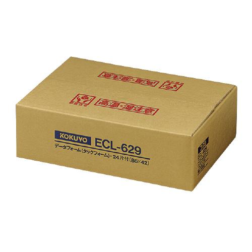 コクヨ 連続伝票用紙<タックフォーム> 500枚 Y14 6/10XT10 24片 ECL-629 (1箱(500枚))