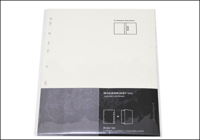 MOLESKINE Folio Collection Folio collection Binder refill set