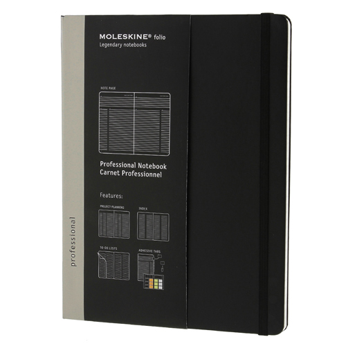 MOLESKINE Professional Notebooks专业人员笔记本X大量