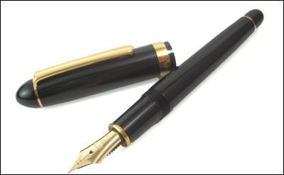 铂金钢笔#3776平衡钢笔(14钱笔尖)