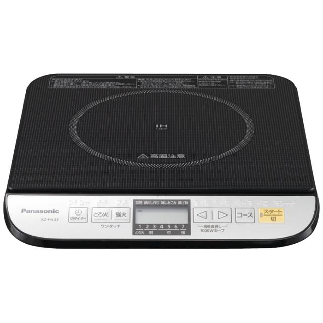 【パナソニック】IH調理器 KZ-PH33-K