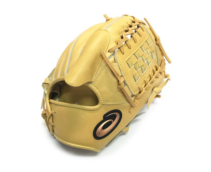 野球 アシックス 硬式グローブ 野球グローブ 投手 ピッチャー用 右投げ 硬式 3121A471(Gブラウン) ゴールデンブラウン 高校野球対応