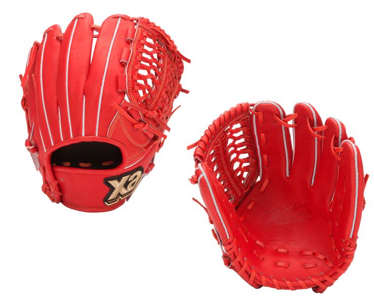 ザナックス 硬式グローブ 特価 オールラウンド 野球 グローブ BHG5720(DRオレンジ) 右投げ