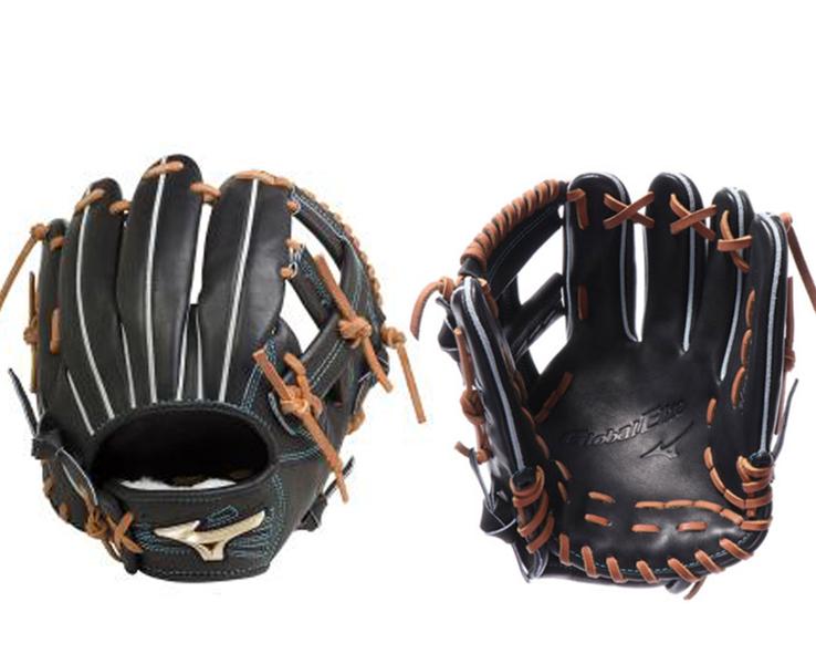ミズノ 硬式野球 1AJGH20633(09.ブラック)グローバルエリート Hselection00 右投げ サイズ10 内野手