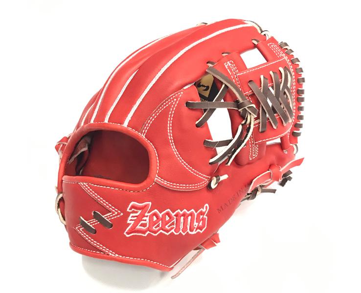 ジームス ZEEMS 三方親 硬式グローブ グローブ 硬式グラブ グラブ  ソフトボール 内野手 セカンド,ショート,サード 内野オールラウンド 28.0cm 日本製