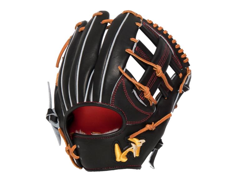 ワールドペガサス グローブ 軟式硬式兼用モデル グランドペガサス TOP 内野手 WGNGPT65(90.ブラック) 右投げ 日本製