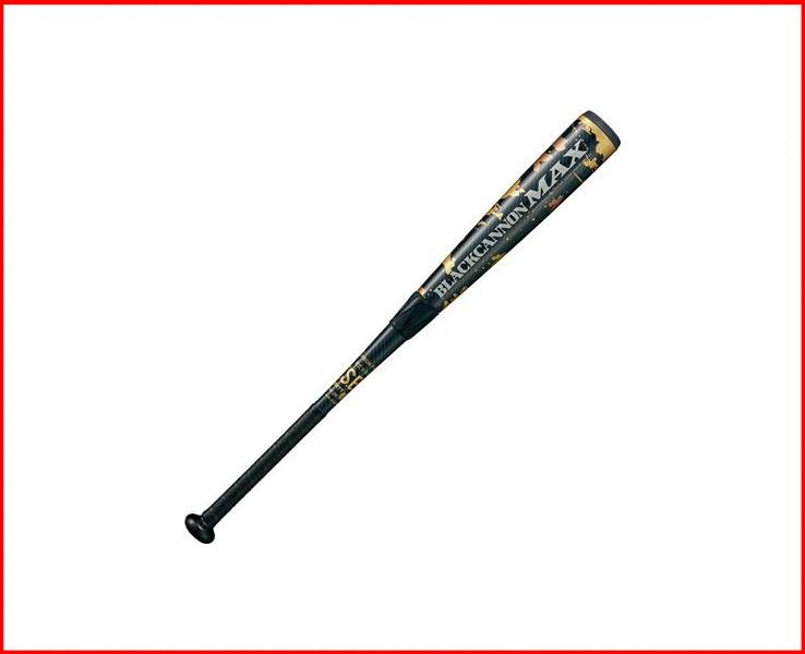 ゼット 少年軟式 バット ブラックキャノンMAX トップバランス 80cm620g平均 BCT75980(1900.ブラック)