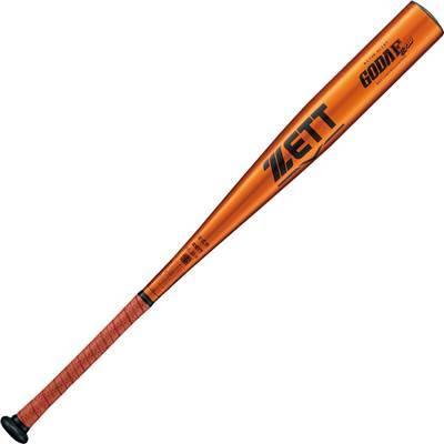 ゼット 高校野球硬式アルミ金属バット GODA-FZ730 BAT11683(オレンジゴールド) 83mc900g以上 ミドルバランス