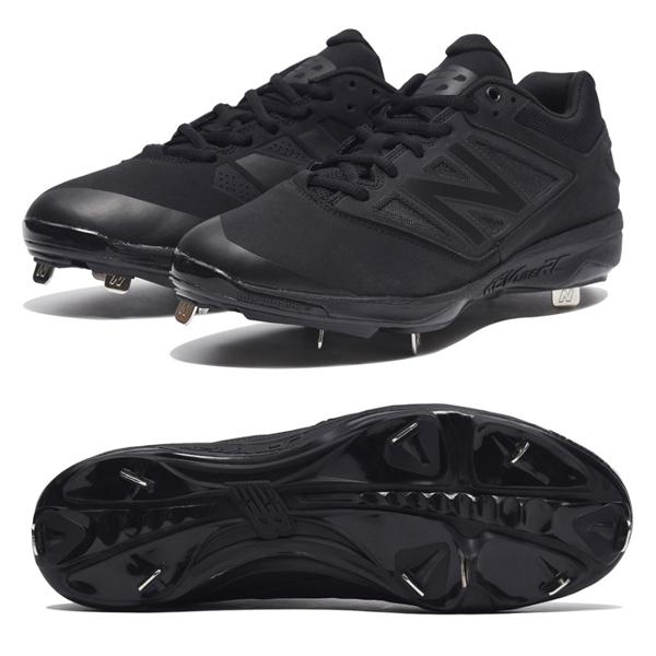 ニューバランス野球高校野球対応ベースボールスパイク/L4040AK3(BLACK)