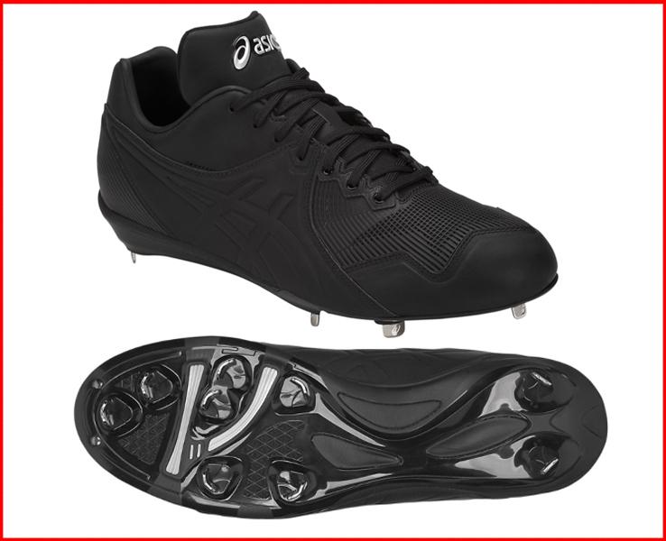 アシックス 野球スパイク 金具樹脂ソール 軽量 アイクイックMA I QUICK MA1121A005 高校野球対応