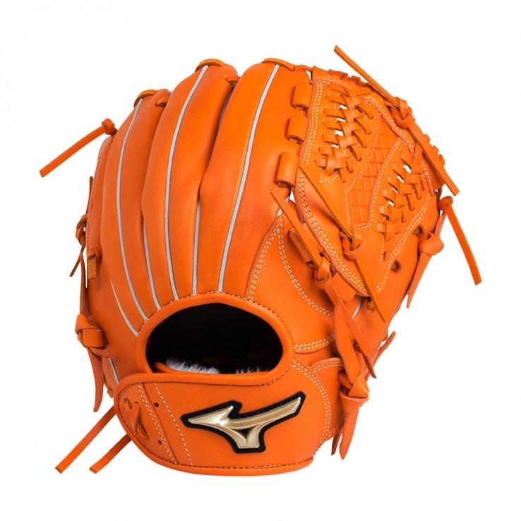 ミズノ 少年野球グローブ ジュニアグローブ 軟式少年グローブ グローバルエリート UMix 1AJGY18430(51.クリアオレンジ) 右投げ 特価 セール
