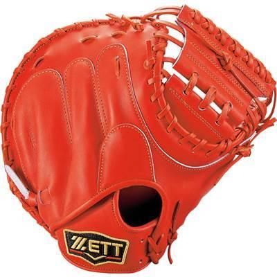 ゼット ZETT プロステイタス 軟式キャッチャーミット キャッチャーミット BRCB30932 5800 ディープオレンジ 右投げ M号対応 中村選手モデル オリジナル