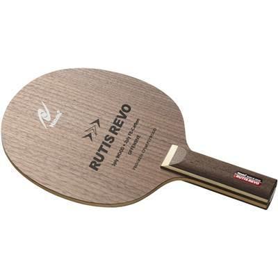 シェークハンド卓球ラケット ニッタク ルーティスレボ ST NC0429  ストレートグリップ 木材3枚アウターFEカーボン2枚