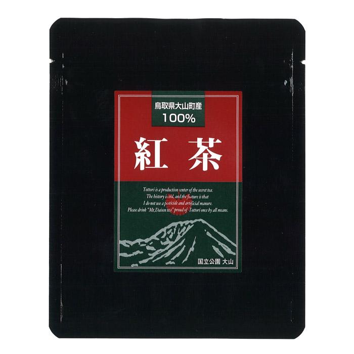早割クーポン 国産茶葉100%使用した希少価値の高い紅茶です 長田茶店 鳥取県大山町産100% 返品交換不可 紅茶 50g