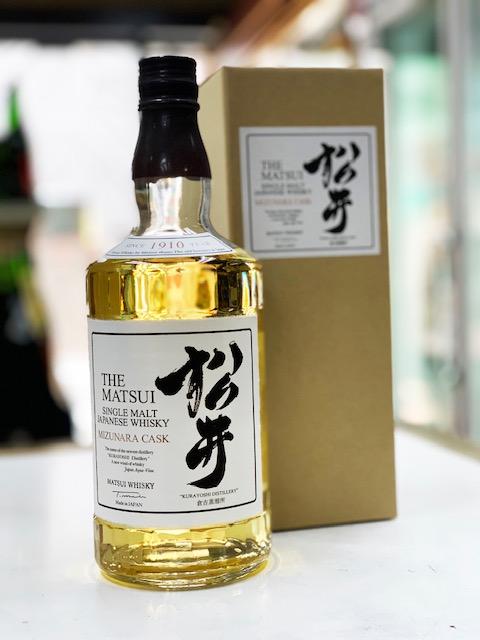 毎日続々入荷 鳥取県 特別セール品 マツイウイスキー 松井 ミズナラカスク700ml
