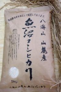 再再販 新商品 生産者限定魚沼産減肥栽培米こしひかり 八海山山麓米 2kg 魚沼産コシヒカリ