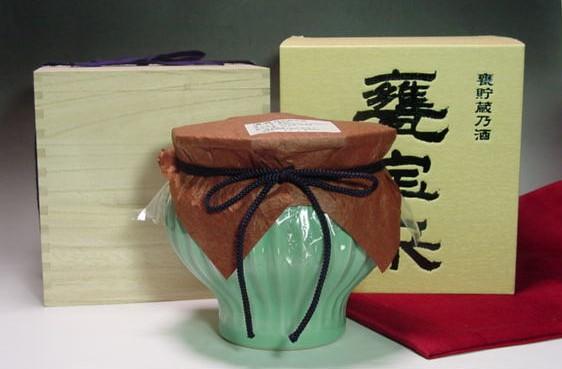萬寿鏡(マスカガミ)甕宝来(かめほうらい)純米大甕貯蔵酒1.8L
