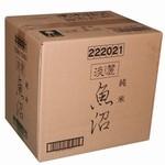 【送料無料】 淡麗 魚沼 純米720ml×12本入り一箱