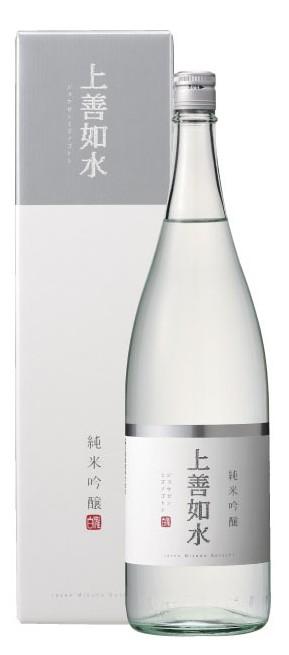 白の上善如水 大放出セール 純米吟醸 1.8L 予約販売