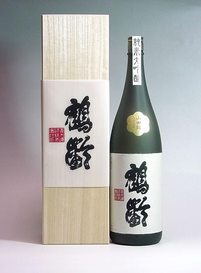 鶴齢純米大吟醸山田錦37%精米1.8L