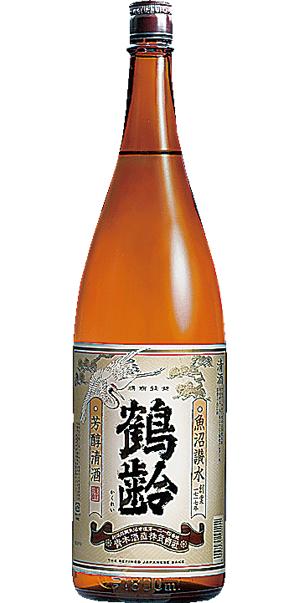 鶴齢普通酒芳醇1.8L6本 倉 送料無料 新品