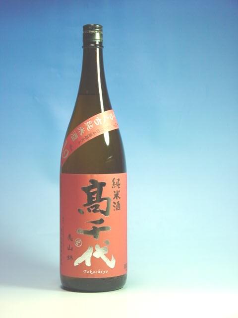 高千代酒造 きれのある純米酒 1.8L 高千代からくち純米素濾過日本酒度+19 通信販売 キャンペーンもお見逃しなく
