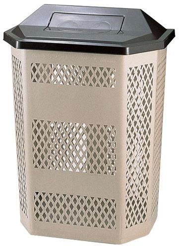 サンクリーンボックス A-3(回転蓋) 6-1258-0301 5-1152-0301【ごみばこ ごみタンク 空き缶 メッシュ 厨房用品 廃棄物 新品 販売 通販】[10P03Dec16]