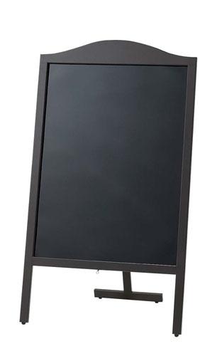 マーカー用木製スタンド黒板 山型 YBD90-1 【インテリア 店舗 店頭 備品 業務用 特価 激安 格安 新品 販売 通販】 [7-2429-0301 6-2301-0301 ]