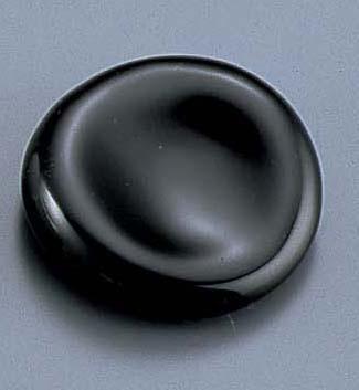 丸型箸置 黒 T03−156  6-1647-1901 5-1493-2001[10P03Dec16]