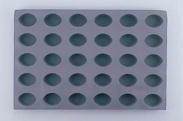 デバイヤーエラストモール 1830-60 オーバル型 30ヶ取 【ケーキ 型 セルクル 厨房用品 調理器具 キッチン用品 キッチン 業務用 販売 格安 通販 製菓 器具 製菓道具 菓子道具 製菓用品】 [7-1032-0301 6-0982-0301 ]