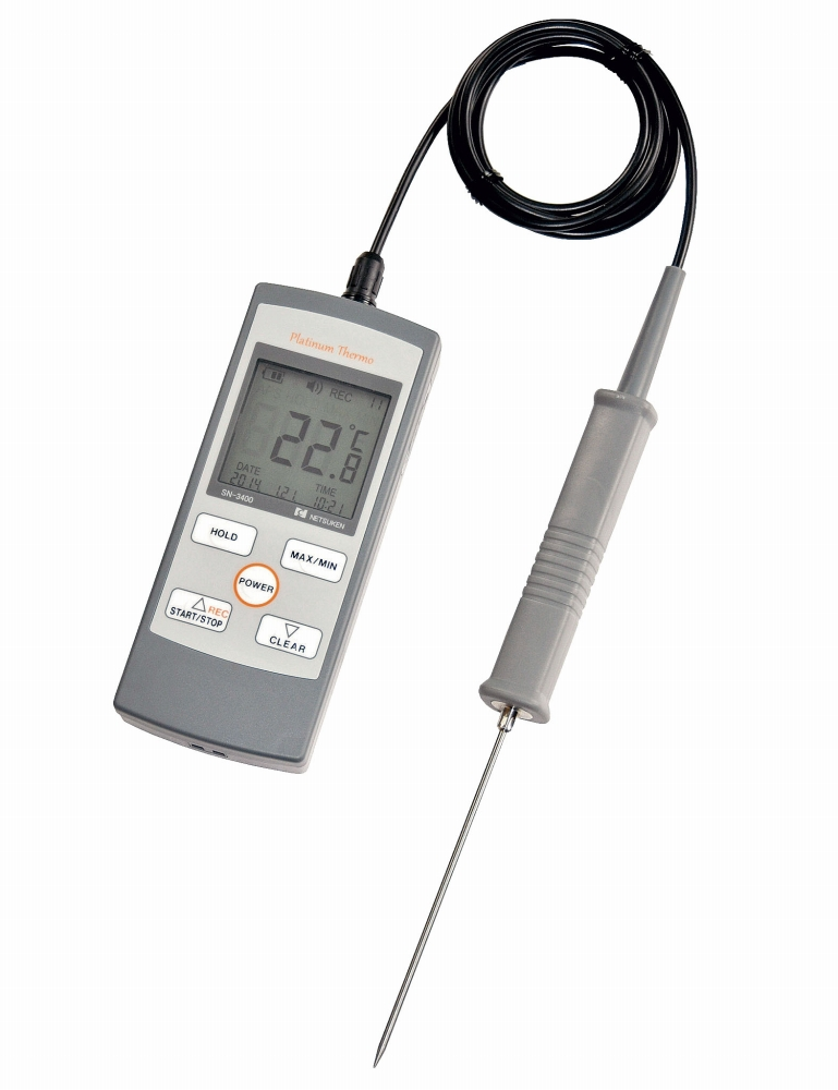 素晴らしい外見 防水ハンディー型白金デジタル温度計 SN-3400 6-0548-1401 標準センサー付 6-0548-1401 5-0496-1101[10P03Dec16], 住設と家電のベアーハンズ:10b5c1f2 --- test.ips.pl