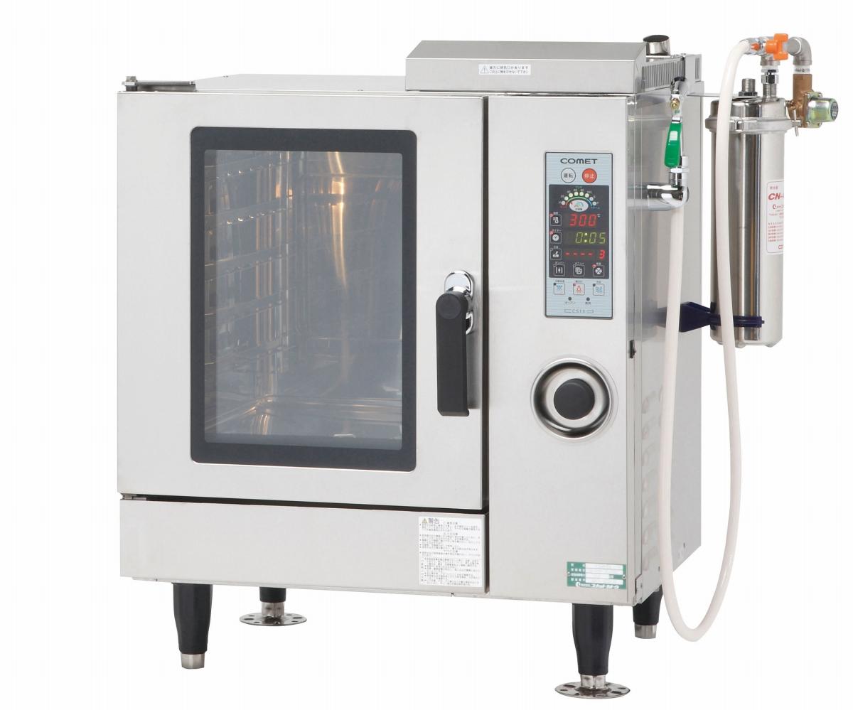 電気式 スチームコンベクションオーブン CSI3-E5 [運賃別途お見積り][メーカー直送 代引き不可] 6-0629-0302 5-0563-0302[10P03Dec16]