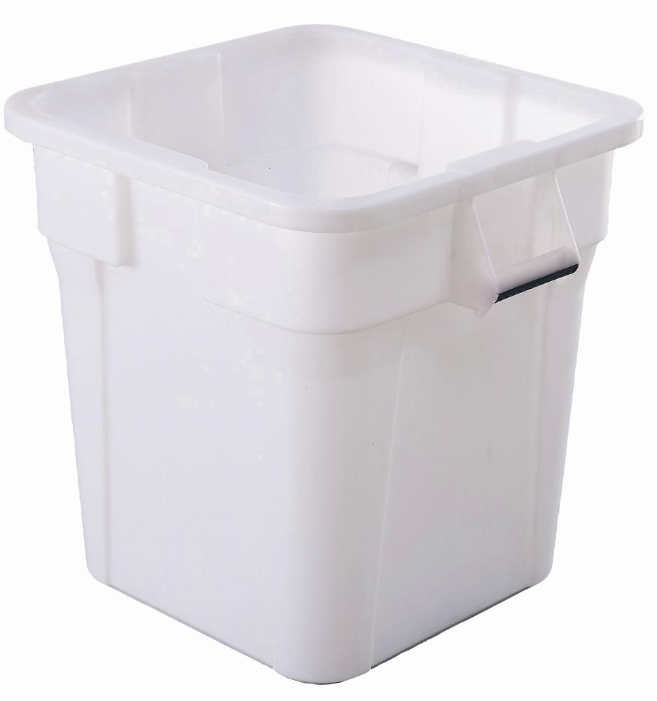 トラスト スクエアコンテナ 1233 ホワイト 【コンテナ 角型 収納 廃棄物 ゴミ箱 容器 厨房用品 新品 販売 通販】 [7-1318-0105 6-1259-0805 ]
