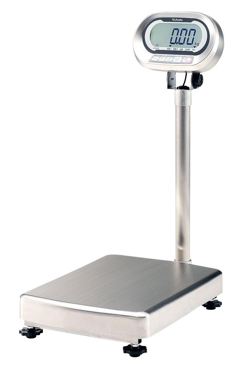 クボタ防水・防塵デジタル台はかり KL-IP-N150AH [運賃別途お見積り] [メーカー直送 代引き不可] 6-0534-0302【厨房用品 調理小物 はかり タイマー 業務用 販売 通販】[10P03Dec16]