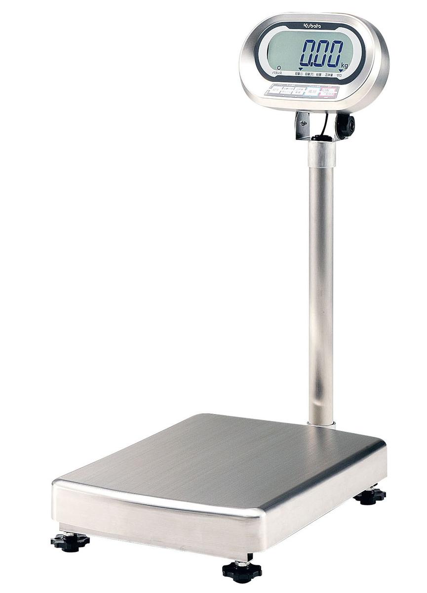 クボタ防水・防塵デジタル台はかり検定付 KL-IP-K60A [運賃別途お見積り] [メーカー直送 代引き不可] 【厨房用品 調理小物 はかり タイマー 業務用 販売 通販】 [7-0560-0401 6-0534-0401 ]