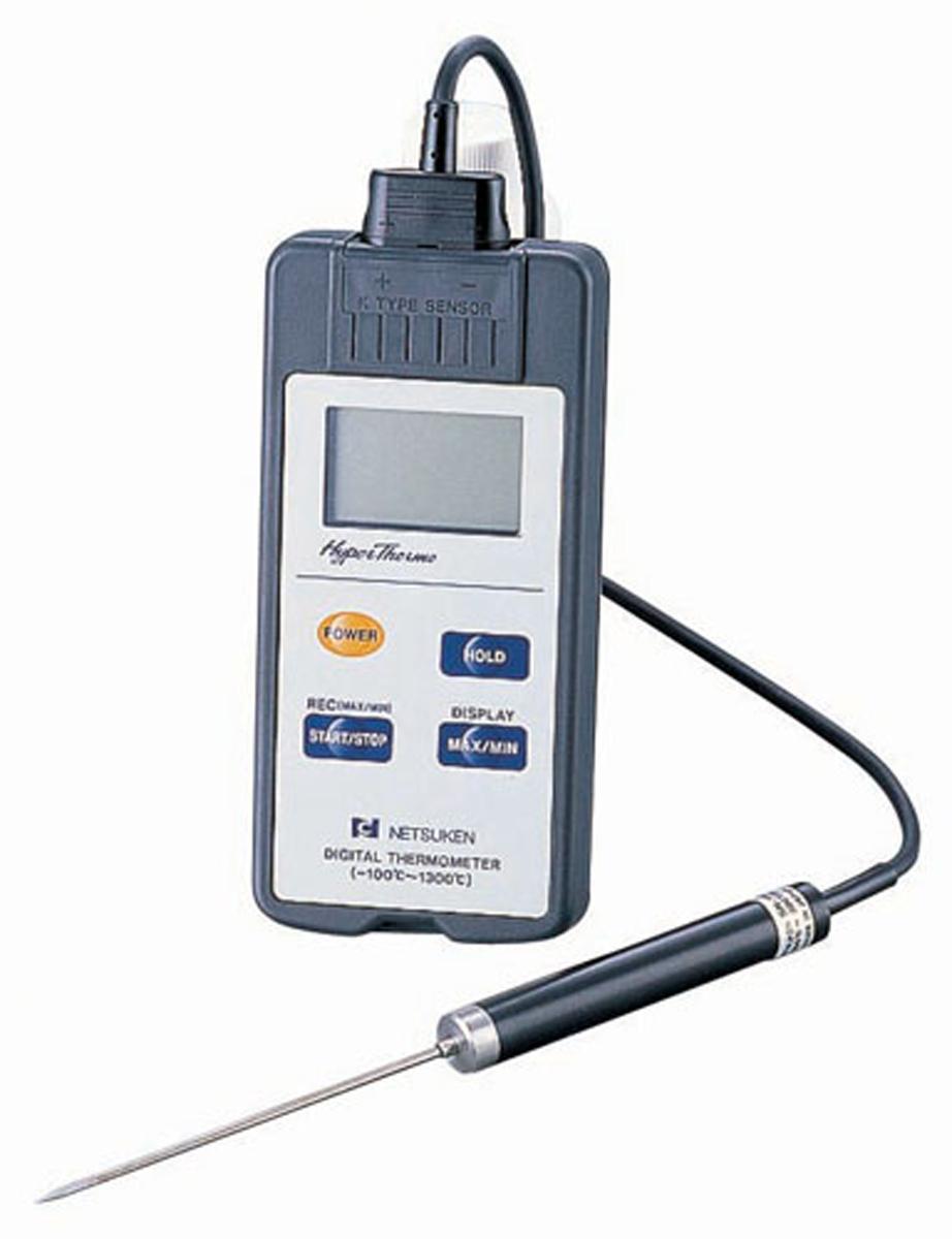 防水型デジタル温度計 ハイパーサーモ SN-350II(センサー付) 6-0549-0601【厨房用品 調理小物 温度計 湿度計 業務用 販売 通販】[10P03Dec16]