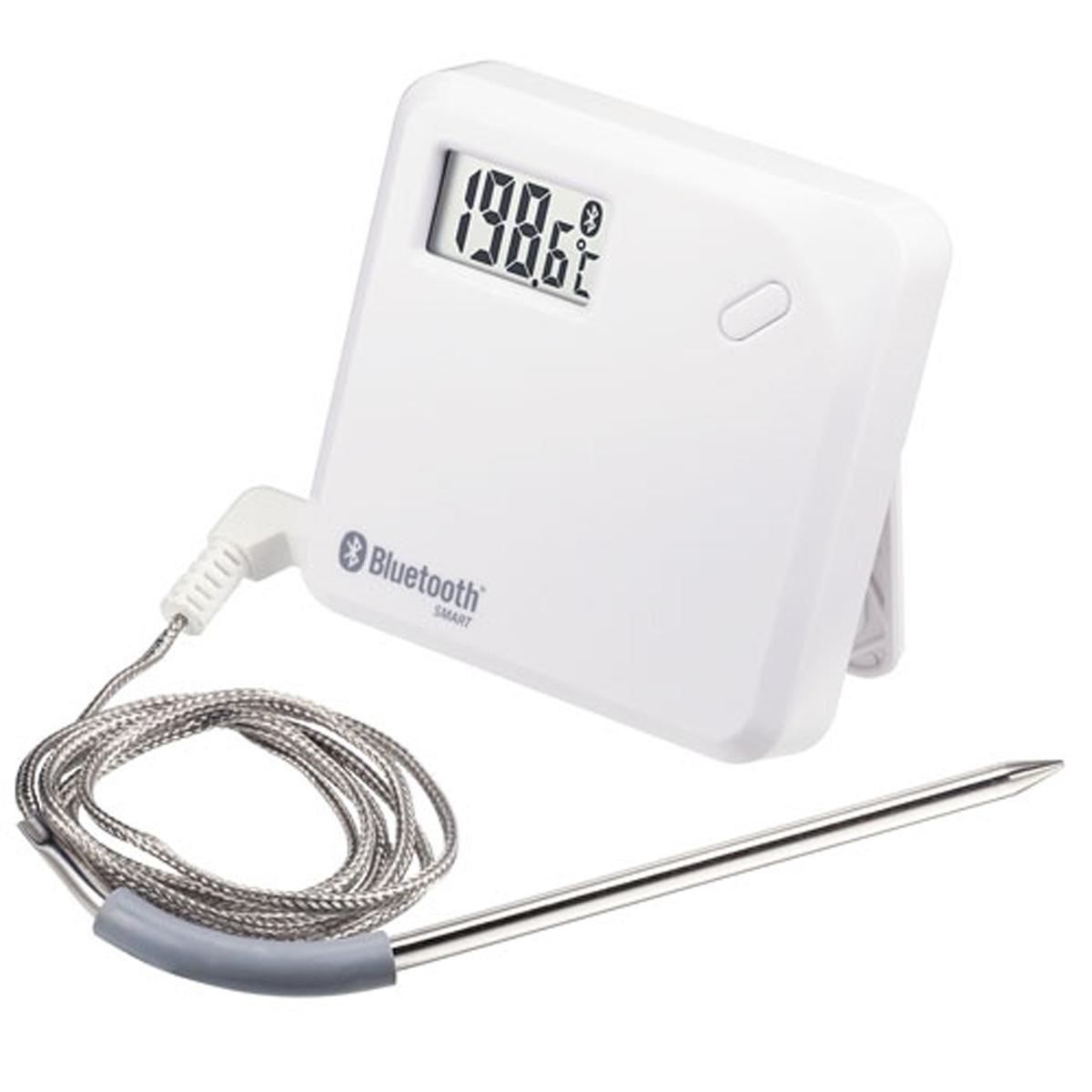 無線 ステンレスプロープ 温度ロガー CT-621BT 6-0553-0401【厨房用品 調理小物 温度計 湿度計 業務用 販売 通販】[10P03Dec16]