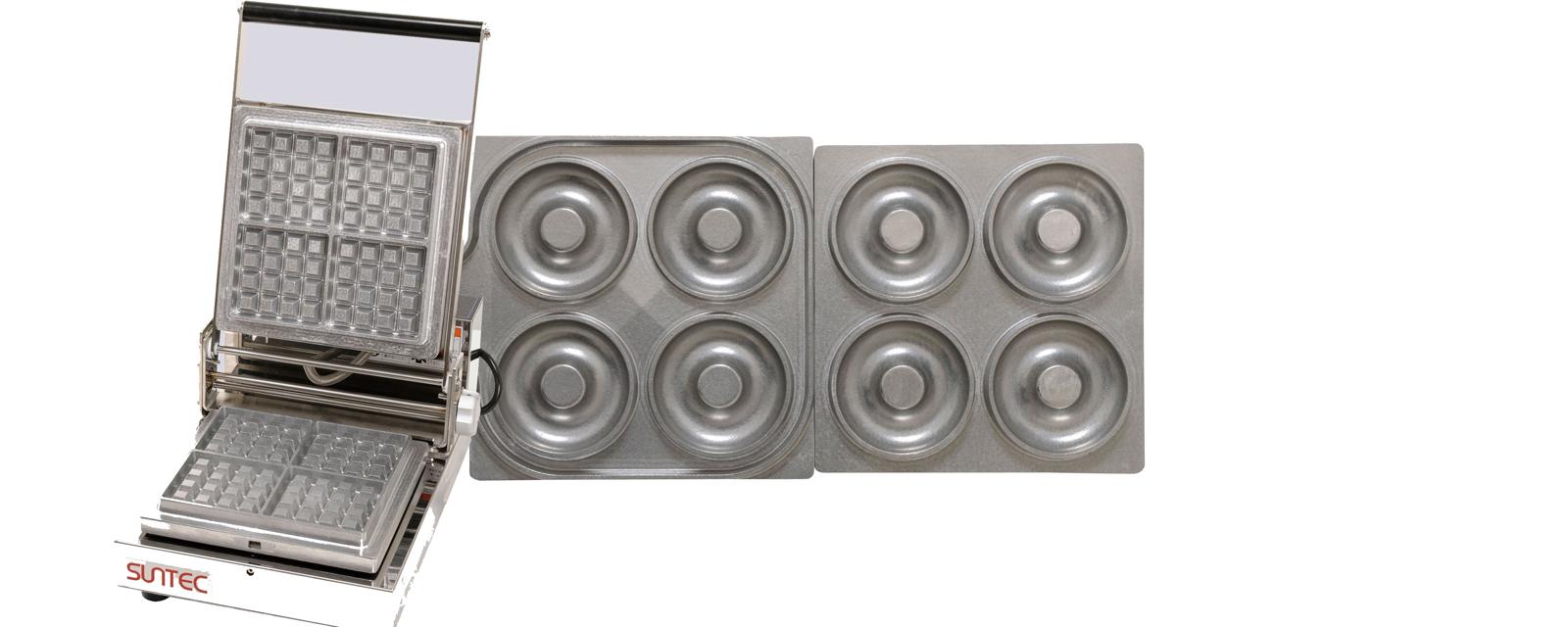 マルチベーカー MAX-1 1連式 クロワッサンドーナツ [運賃別途お見積り] [メーカー直送 代引き不可] 【厨房用品 軽食 鉄板焼用品 ファーストフード関連品 業務用 販売 通販】 [7-0909-0202 6-0860-0202 ]